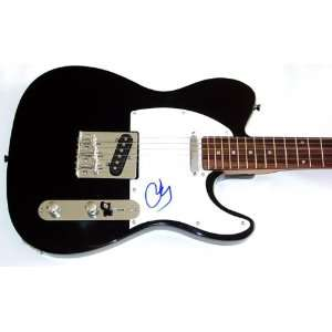 John Cougar Mellencamp Signed Guitar & Proof Dual Cert PSA