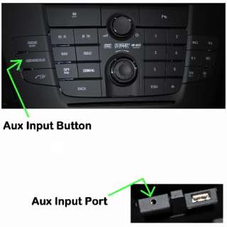 2011 Car Radio iPhone iPad iPod Aux Input Cable Adapter