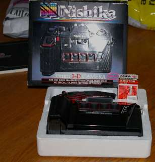 Nishika N8000 35mm Film 3D Camera 45105068005