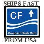 We stock a large assortment of CF cards from 1GB to capacity 32GB