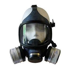 New USA Gasmask Gas Mask MSA Ultra Twin Filter Home Safety Adult