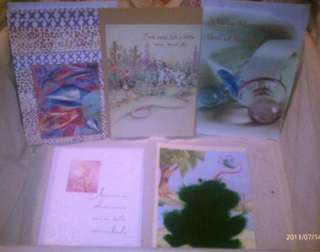Lot of 50 High Quality Department Store Greeting Cards in 4 Different