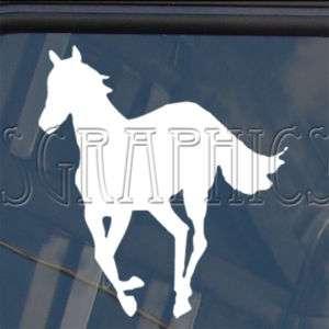 Horse Run Cowboy Usa Decal Car Truck Window Sticker