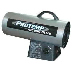 BTU Portable Fan Forced Propane Heater PT 40 GFA