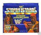 1991 WWF Euroflash Wrestling Stickers Pack From Box
