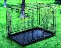 Extra Large 48 Dog Crate Cage Kennel 3 Doors 35H