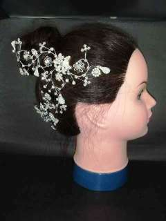 Bridal Rhinestone Crystal Wedding Headpiece Hair tiara Comb RB201