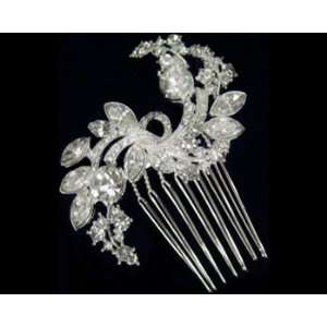 Crystal and Rhinestone Hair Comb 2298 Beauty