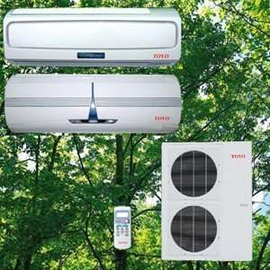 Heat Pump or Central Dual Zone Split Air Conditioner with Heat Pump or