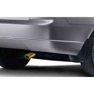 Genuine OEM Honda Civic Coupe & Sedan Gold Exhaust Finisher 2003 2004
