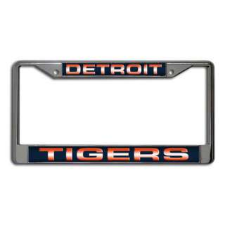 MLB   Detroit Tigers Laser Chrome License Plate Frame