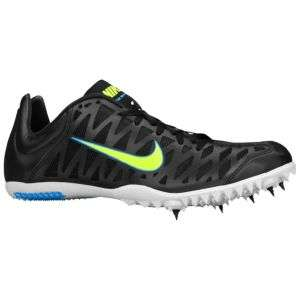 Nike Zoom MaxCat 3   Mens   Track & Field   Shoes   Black/White/Blue