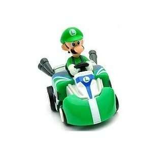NEW Super Mario ~luigi~pull Back Car Figure Toys & Games