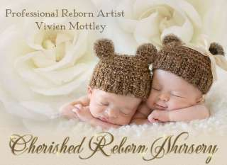 Cherished Reborn Nursery baby boyl Art Doll so precious one of twins
