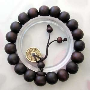 Wood Beads Tibet Buddhist Prayer Bracelet Mala