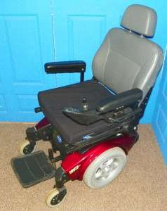 Pronto Sure Step Red Electric Wheelchair! Very Nice! NO CHARGER