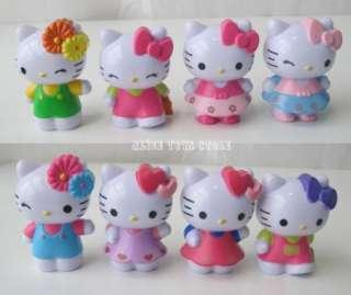 NEW lot of 8pcs Hello Kitty figure figurine