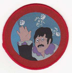Beatles John Yellow Submarine Port Hole Official sew on Patch