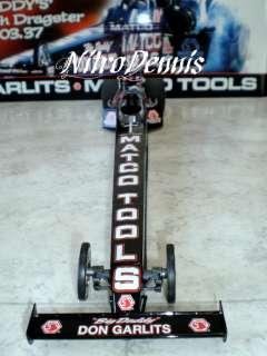DON GARLITS 1:16 Milestone BIG DADDY 2004 NITRO Top Fuel Dragster RARE