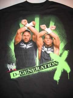 GENERATION DUO WWE T shirt Shawn Michaels Triple H DX