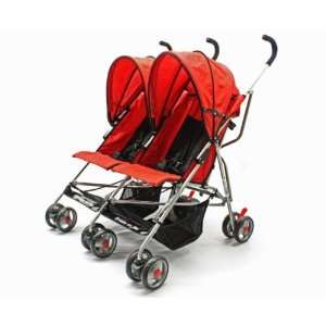 Dream on Me Side By Side Twin Baby Stroller, Red: Everything Else